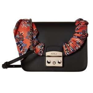 Furla Metropolis Seta Small Crossbody - $448 New!